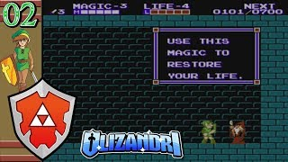 Zelda 2: The Adventure Of Link - Jump Trophy,  Life Mirror, Midoro Swamp Struggle - Episode 2