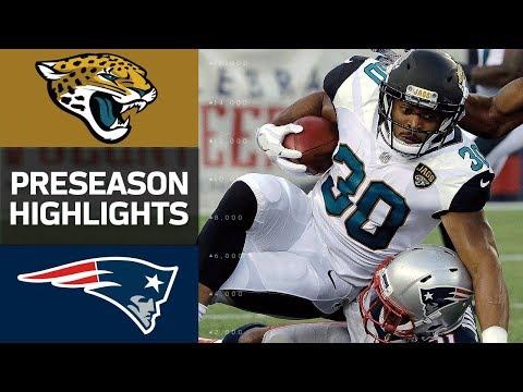 Jacksonville Jaguars vs New England Patriots