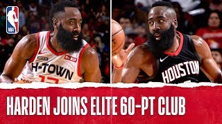 ALL 4 of James Harden's 60-Point Performances!