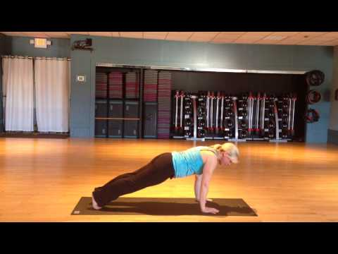 Pilates Push Up