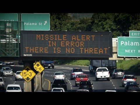 False ballistic missile alarm forces Hawaii into panic mode