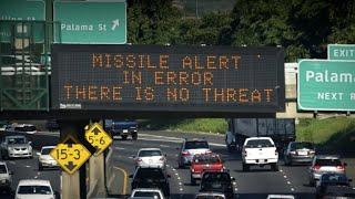 False ballistic missile alarm forces Hawaii into panic mode