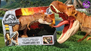 Extreme Chompin' T-Rex!! | Jurassic World: Fallen Kingdom | Toy Review