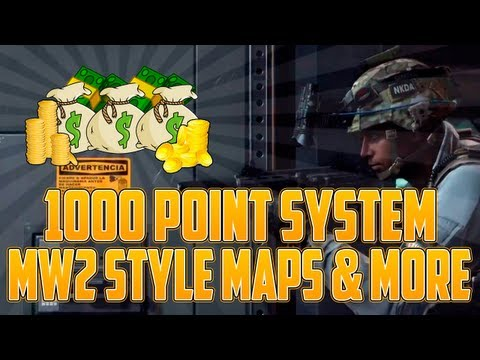 "HUGE ""Call Of Duty Ghosts"" Info - ""PICK 1000 SYSTEM"" & MW2 Style Maps (COD Ghosts Leaked Info) - Smashpipe Games"