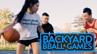 BACKYARD BASKETBALL GAMES TO PLAY WITH FRIENDS PT. 2