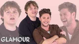 Niall Horan and Lewis Capaldi Take a Friendship Test | Glamour