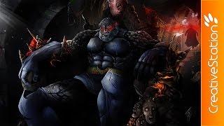 Darkseid – Speed Painting (Photoshop)   CreativeStation