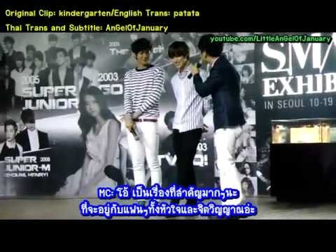 [Thai Sub Fancam]120811 KAI EXO & TAEMIN SHINEE - SM.ART EXHIBITION
