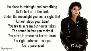 Thriller - Michael Jackson (Lyrics)