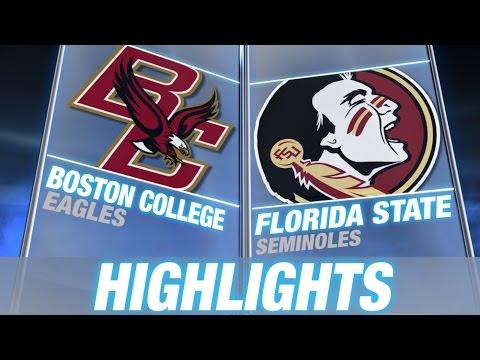 Boston College vs Florida State | 2014 ACC Football Highlights