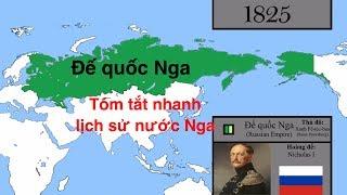 Tóm tắt nhanh lịch sử nước Nga