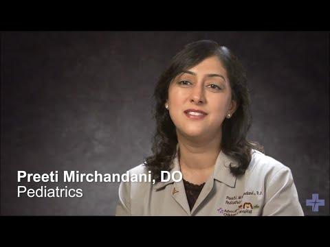 Meet Dr. Preeti Mirchandani, Pediatrician – Advocate Health Care