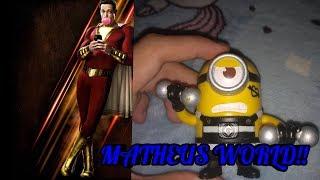 Meus Minions Assistindo Ao Trailer 2 Oficial De Shazam Da DC!!!!