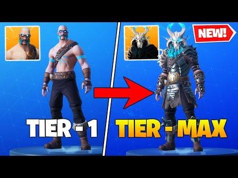 I Unlocked *MAX TIER* RAGNAROK SKIN In Fortnite Battle Royale!