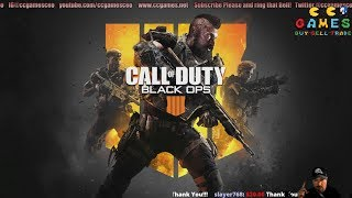 Streaming Call of Duty Black Ops 4 after a Browns Win!!!