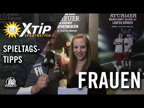 X-TiP Spieltagstipp mit Flemming Nielsen (ehemals Trainer Eimsbütteler TV) und Dana Dorst (Eimsbütteler TV) - 15. Spieltag Frauen Verbandsliga | ELBKICK.TV
