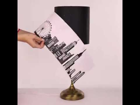 #ALSHOPtips Tired with your boring lampshades? Here's a lovely idea to make it attractive.