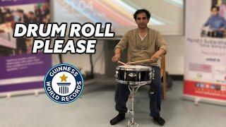 IN FULL: Longest Drumroll