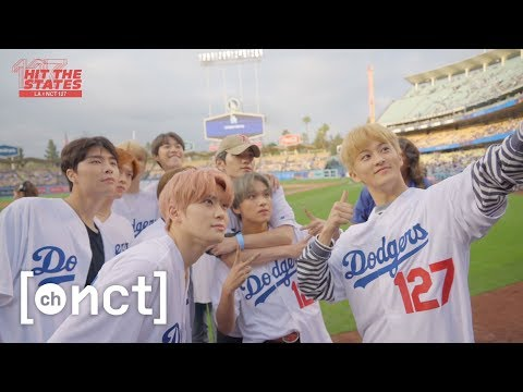 NCT 127 X LA : Let's go Dodgers! The first pitch⚾ at Dodger Stadium | NCT 127 HIT THE STATES