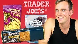 Irish People Try Trader Joe's Snacks