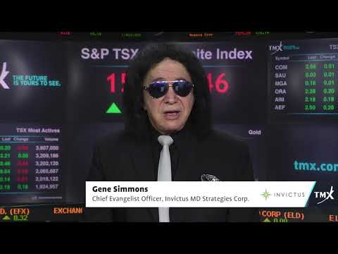 View from the C-Suite: Gene Simmons, and Dan Kriznic, Founder and CEO, Invictus MD Strategies Corp., tells his company's story.