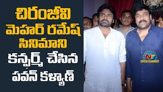 Pawan Kalyan confirms Billa fame Meher Ramesh's film with ..