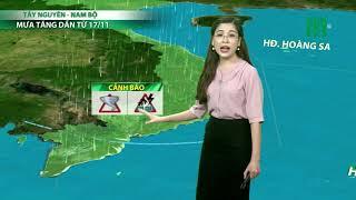 Thời tiết cuối ngày 14/11/2018: Mưa rào cục bộ ở Tây Nguyên, Nam bộ | VTC14