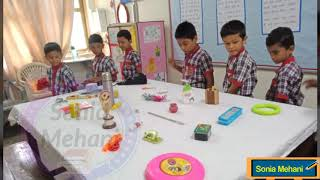 Memory game competition in KV Bambolim 2019