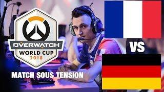 FRANCE VS ALLEMAGNE Overwatch Worldcup Paris 2018