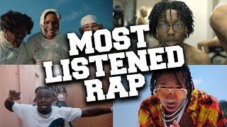 Top 100 Most Listened Rap Songs in November 2019