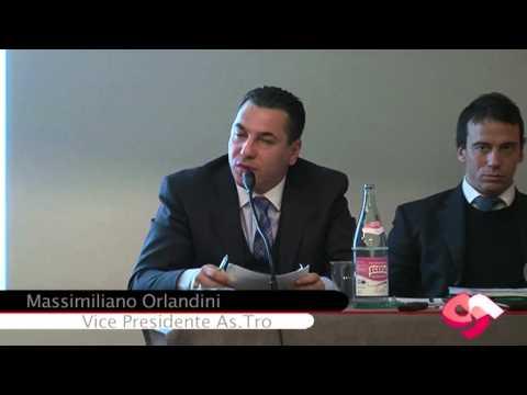 Massimiliano Orlandini vice presidente AsTro al convegno sulla fiscalità