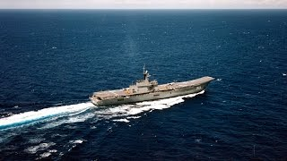 The only one Aircraft carrier in Southeast Asia ROYAL THAI NAVY