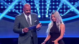 Kim Kardashian West's Fast Money Round - Celebrity Family Feud