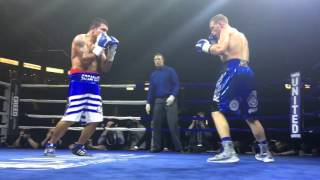 "Brandon ""Bad Boy"" Cook defending his WBA Title"