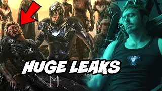 Avengers Endgame Tony Death and More Leaks Officially Confirmed Avengers Infinity War