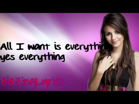 Baixar Victoria Justice (Victorious)-All I Want Is Everything (Lyrics) HD - YouTube.mp4