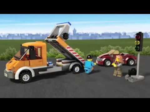 Funskool LEGO City Flatbed Truck