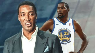 "Scottie Pippen LET'S IT BE KNOWN ""Kevin Durant IS BETTER THAN Lebron James!!!"""