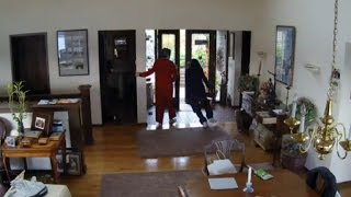 Grandma Wearing Pajamas Scolds Home Intruders: 'Get the Hell Out of Here!'