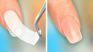 Nail Hacks And Manicure Ideas || 29 Beauty Girly Hacks For Emergency Situations