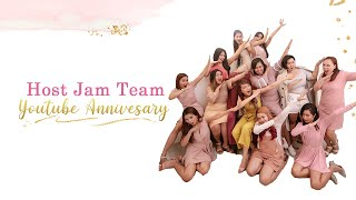 Host Jam Team Youtube Anniversary | Vlog 219