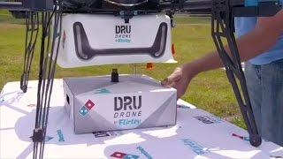 New Pizza Delivered By Drone In New Zealand