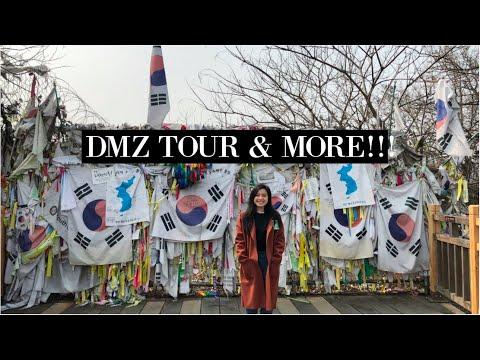 DMZ Tour, Reacting to Monsta X, & HOT CHEETOS in Korea!! // Korea Study Abroad Vlog #5