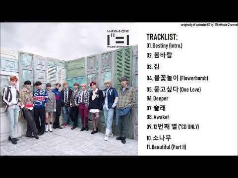 [FULL ALBUM] Wanna One (워너원) - 1집 1¹¹=1 (POWER OF DESTINY)