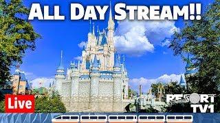 🔴Live: Disney's Magic Kingdom ALL DAY Live Stream Real Part 2 1080p  - Walt Disney World - 3-16-19