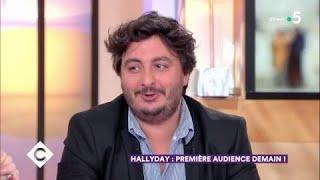Johnny Hallyday : première audience demain ! - C à Vous - 14/03/2018