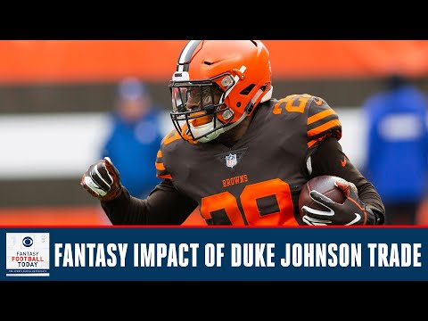 The Browns Trade Duke Johnson, How Will This Effect Your Fantasy Draft? | Fantasy Football Today