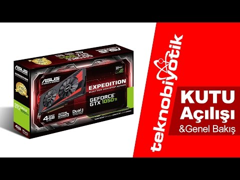 video Asus Expedition GeForce GTX 1050 Ti 4G