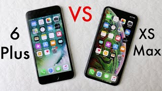 iPHONE XS MAX Vs iPHONE 6 PLUS! (Should You Upgrade?) (Review)