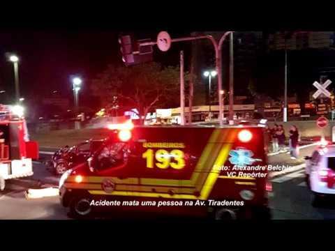 Morte no trânsito em Marília